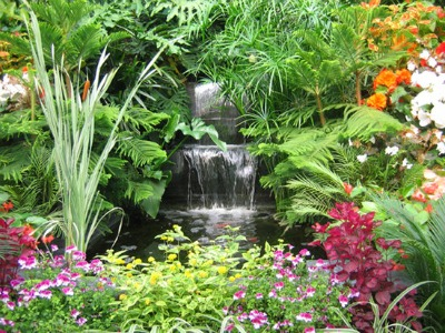Charmant Building A Garden Waterfall