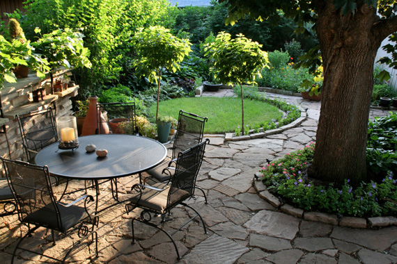 Garden design ideas for Small patio landscaping