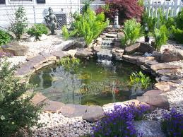 semi formal water gardens