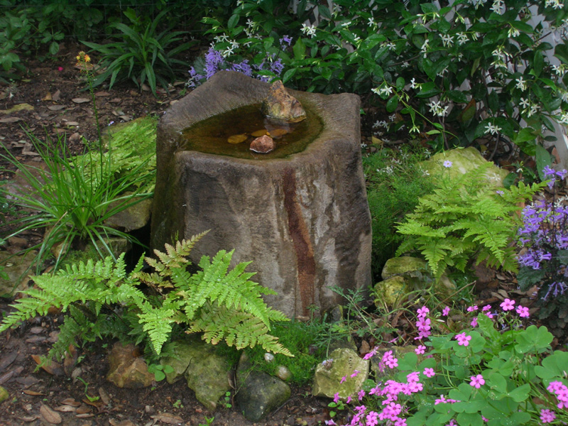 Home style choices how to build a water feature for Garden designs with water features