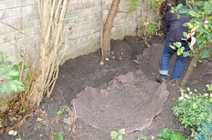 Natural Water Features - puddled clay pond