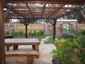 Decking Ideas - Furniture and Plants