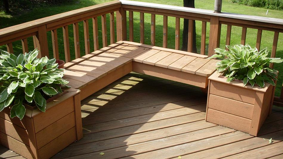 Pots for patio deck designs for Garden decking designs uk