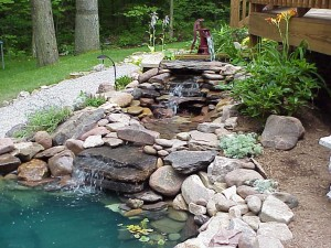 Garden Fountains and Geysers