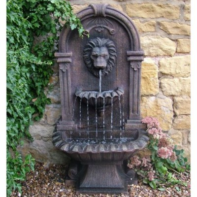 Outdoor wall fountains Outdoor water fountains