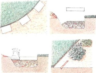 Project work: edging the lawn; sowing seed