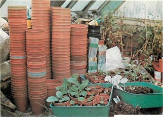 at this time of year it is a good idea to assemble and inspect all containers to ensure that they are ready for the new season